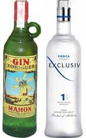 difference between vodka and gin difference between