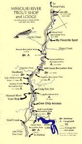 map of missouri river missouri river map