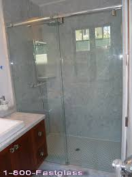 frameless shower doors with stain free glass
