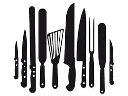 ustensile de cuisine en l sticker ustensiles cuisine stickers trompe l oeil
