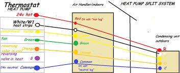 wiring a heat pump diagram