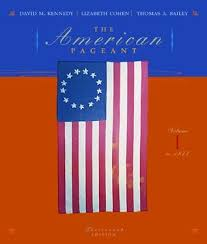 the american pageant to 1877 a history of the republic vol 1 by