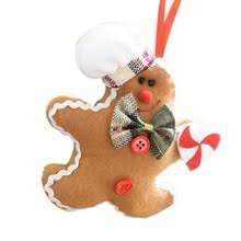 Gingerbread Christmas Decorations Wholesale by Online Get Cheap Gingerbread Christmas Ornaments Aliexpress Com