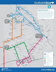 Metro Redline Map Maps U0026 Schedules Burbank Bus