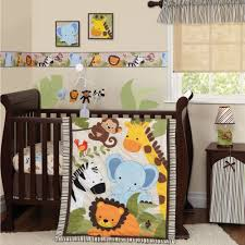 crib bedding for girls on sale lambs u0026 ivy bedtime originals jungle buddies 3 piece crib bedding
