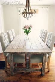Dining Room  Rustic Round Wood Table Rustic Round Kitchen Table - Kitchen table cushions