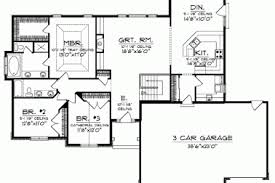 ranch floor plans with basement 15 open floor plan homes basements awesome home plans with
