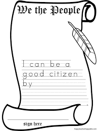 best ideas of constitution day worksheets for letter