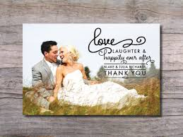 thank you card classical theme thank you card after wedding