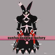 halloween guilty gear xrd sign elphelt valentine cosplay costume