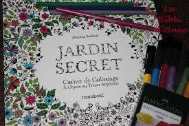 Mon « Jardin secret » Johanna Basford  Coloriages pour adultes et