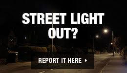 report a street light out street light outage township of lakewood nj