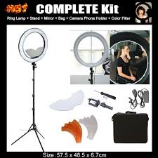 ring light for video camera ng 40c 40w 5400k studio diva ring light with tripod stand camera
