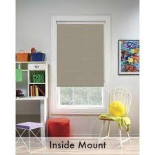 Decorative Roller Shade Pulls Bali Cut To Size Roller Shades Shades The Home Depot