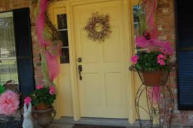 Easter Decorations For Garden by Top 11 Easter Front Porch Decors U2013 Easy Garden Design For Cheap