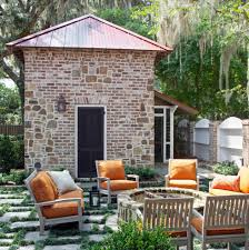 brick fire pit fashion other metro traditional patio decorating