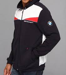 bmw motorsport clothing bmw motorsport sweat jacket motorcycle hoodie team blue