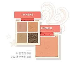 Meme Cosmetics - com i m meme i m multi cube 002 all about coral eye shadow