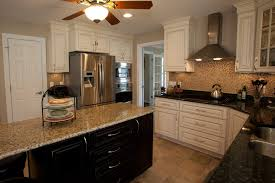 kitchens with different colored islands different colors of granite countertops inspirations and kitchen