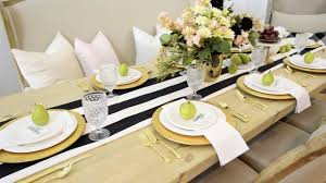 Set The Table by Setting The Table Family Dinners Maggie Holmes Youtube