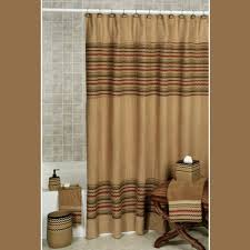 Green And Brown Shower Curtains Bathrooms With Shower Curtains Blue Brown Curtain Fabric Coral And