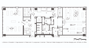 rest floor plan gallery of yoga studio kostas chatzigiannis architecture 25