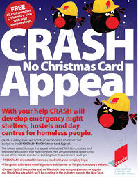 crash launches no christmas card appeal