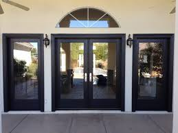 decorating charming exterior double glass patio door lowes set