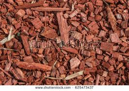 wooden splinters closeup decorative wood chips stock photo