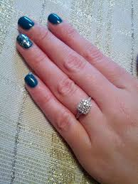 size 6 engagement ring show me your half carat halo e rings on size 5 6 fingers