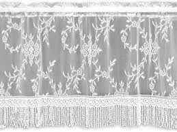 Black Lace Valance Lace Curtain Store Discount Heritage Lace Curtains And Textiles