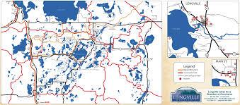 Map Mn City Of Longville Map Longville Minnesota Street U0026 Business Map