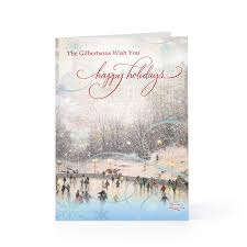 personalized boxed christmas cards kinkade christmas cards boxed christmas lights decoration