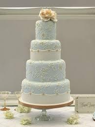 blue and gold wedding cake idea in 2017 bella wedding