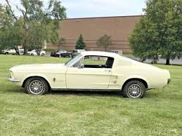 1967 ford mustang fastback 1 owner c code 289 wimbledon white