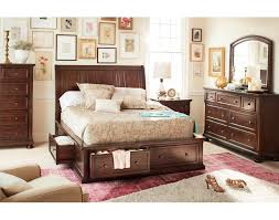 Bedroom Furniture Collections Sets Monticello Pecan Ii 5 Pc King Bedroom Value City Furniture