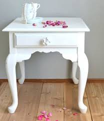 side table bedroom unfinished shabby chic nightstand two table
