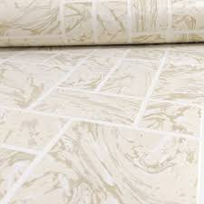 holden marble tile pattern effect kitchen bathroom wallpaper 89250
