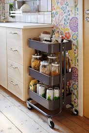 kitchen furniture kitchen cabinet spice rack with floating and