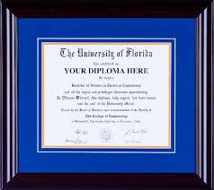 uva diploma frame ufst027 standard diploma frame sports marketing