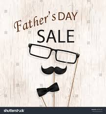 fathers day sale template flyer brochure stock vector 662284189