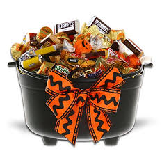 Care Packages For College Students Cauldron Of Chocolate Halloween Candy Gift Basket Great Care