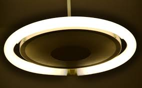 modern ceiling light fixture led design with gray circle shaped