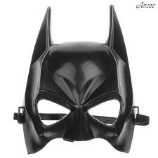 Amazon Com Batman Half Face Mask Classical Cartoon Figure