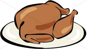 cooked turkey clipart thanksgiving clipart