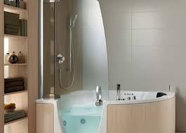 shower stunning curved glass block shower modern bathroom design
