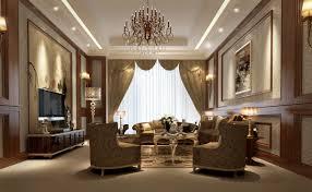 3d interior design luxury living room cgtrader