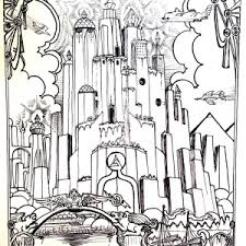 castle coloring pages coloring pages adults justcolor