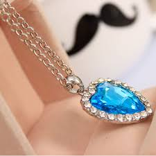 titanic blue heart necklace images Oppohere crystal pendant heart necklace classic titanic ocean jpg