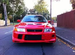 lancer evo red used mitsubishi lancer evolution viii 2 0 litre turbo for sale in